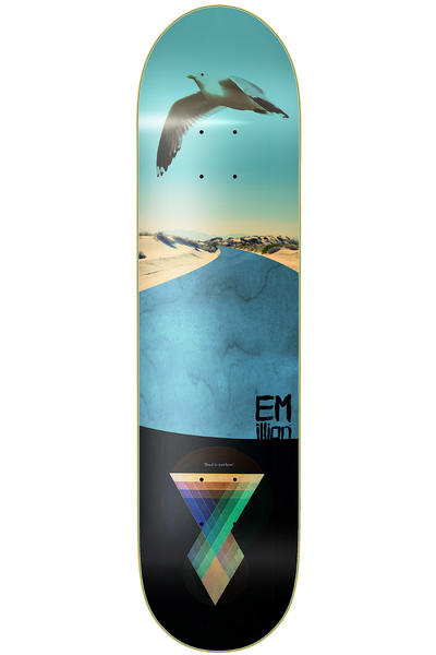 "EMillion Art Series Road To Nowhere 8.25"" Deck (multi)"