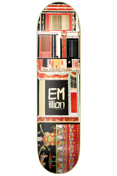 "EMillion Fancy 8"" Deck (multi)"