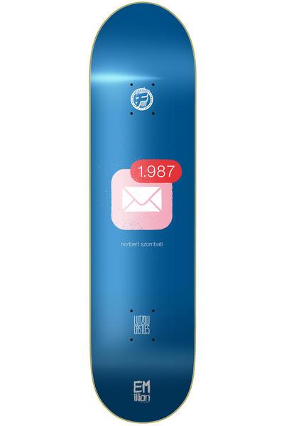 "EMillion Pro Szombati Fibertech 8.25"" Deck (blue)"