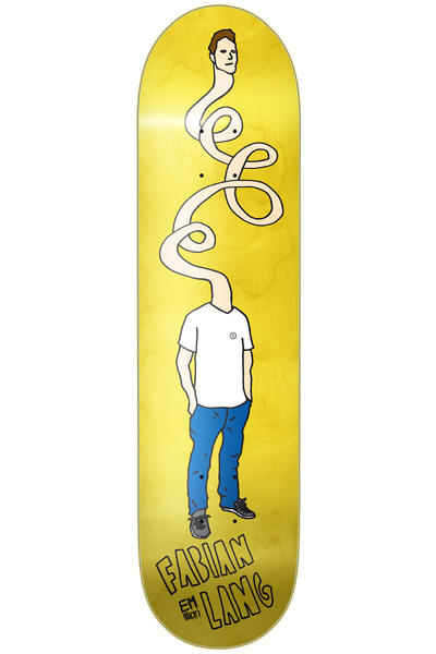 "EMillion Pro Lang Fibertech 8.5"" Deck (yellow)"