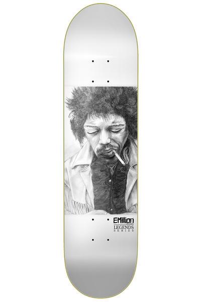 "EMillion Legends Hendrix 8.125"" Deck (white)"