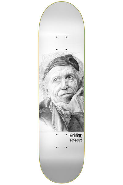 "EMillion Legends Richards 8.5"" Deck (white)"