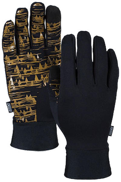 POW Poly Pro TT Liner Guantes (gold)