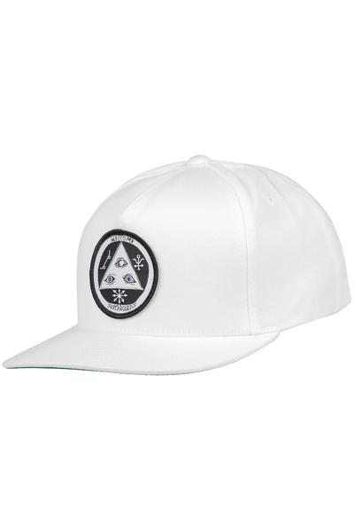 Welcome Talisman Snapback Cap (white black)