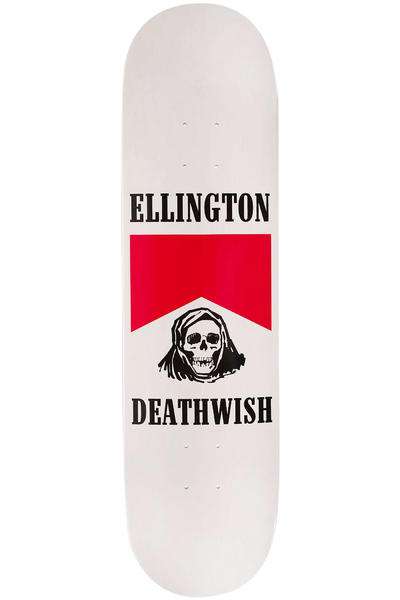 "Deathwish Ellington Flavour Country 8.125"" Deck (white)"