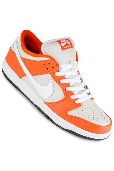 Nike SB Dunk Low Premium Shoebox Shoe (safety orange white)