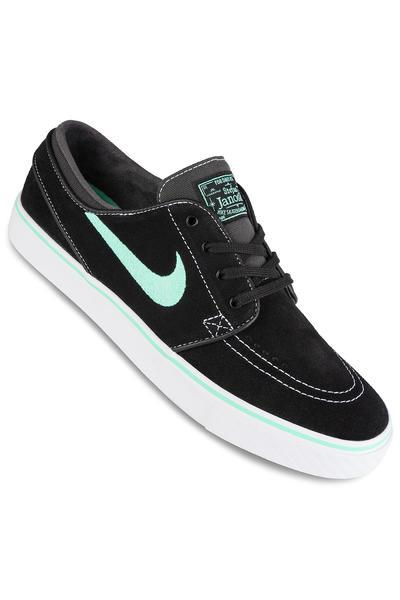 Nike SB Zoom Stefan Janoski Shoe (black green glow)