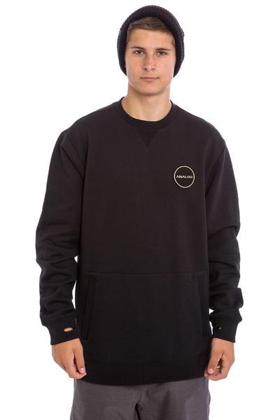 Analog Enclave Snow Sweatshirt (true black)