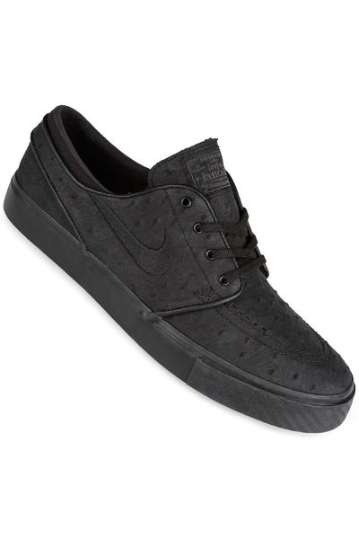 Nike SB Zoom Stefan Janoski Leather Shoe (black black anthracite)