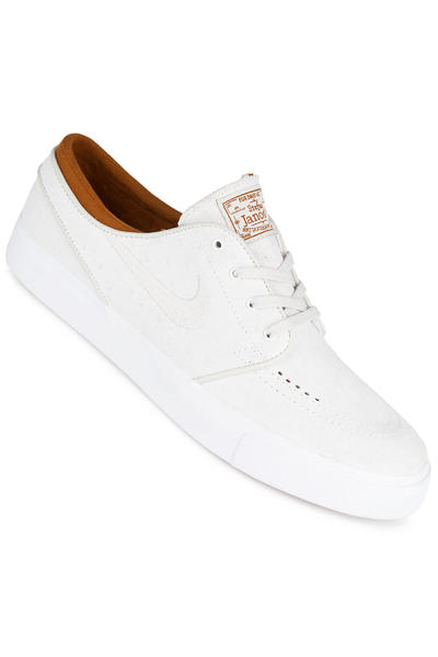 Nike SB Zoom Stefan Janoski Leather Shoe (ivory light bone)