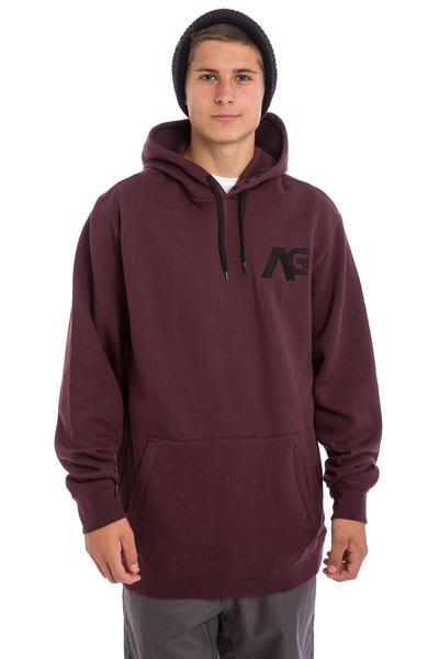 Analog Crux Sudadera Snow (deep purple)