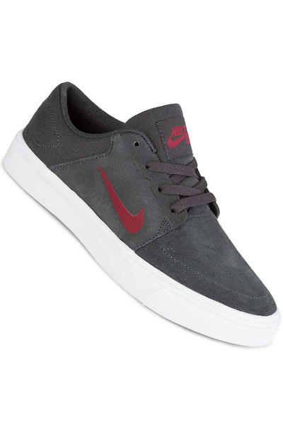 Nike SB Portmore Schuh kids (anthracite team red)