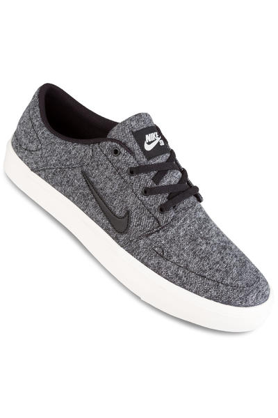 Nike SB Portmore Canvas Premium Shoe (ivory black)