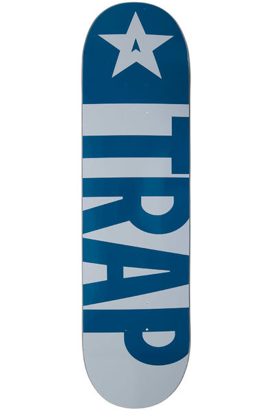 "Trap Skateboards Big Flag 8.5"" Deck (blue)"