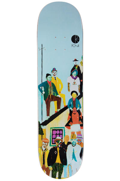 "Polar Skateboards AMTK Team A 8.25"" Deck (multi)"