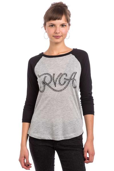 RVCA Rope RVCA Longsleeve women (heather grey black)