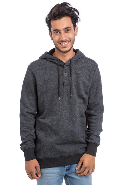 RVCA Capo Twill Hoodie (charcoal heather)