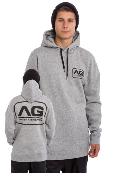 Analog Agent Snow Hoodie (grey heather)