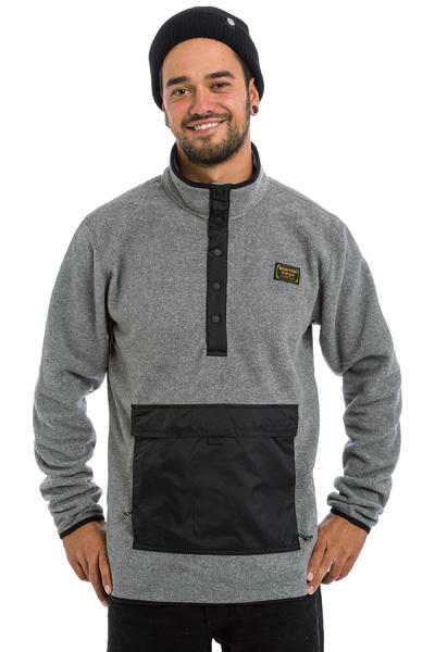 Burton Hearth Sweatshirt (dark ash heather)