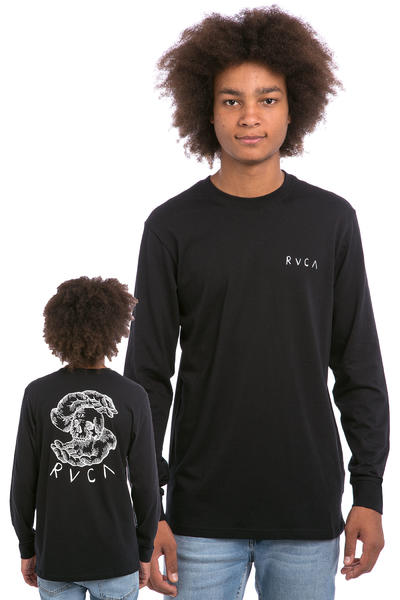 RVCA Skull Teller Longsleeve (black)