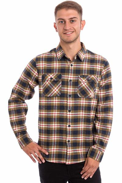 RVCA That'll Work Camisa de franela (bark)