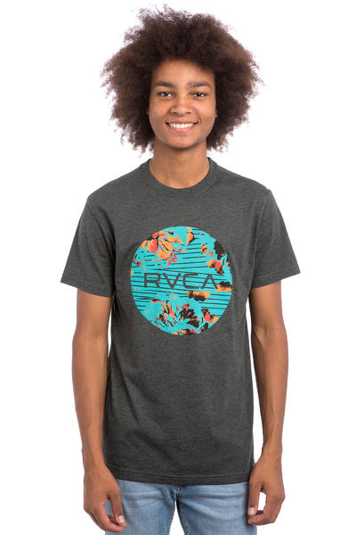 RVCA Southeastern Motors T-Shirt (charcaol heather)