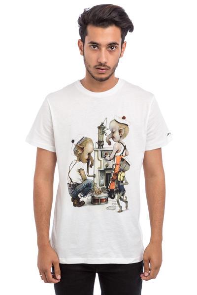 RVCA Bandmates T-Shirt (vintage white)