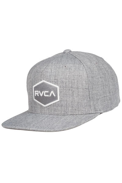 RVCA Commonwealth II Snapback Cap (heather grey)