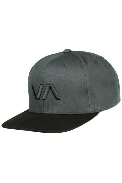RVCA VA II Snapback Cap (grey black)