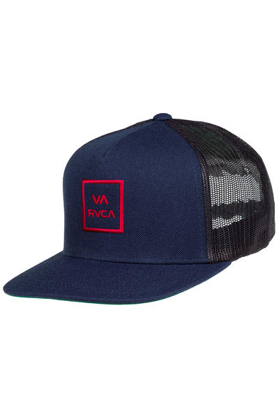 RVCA VA All The Way III Trucker Cap (navy)
