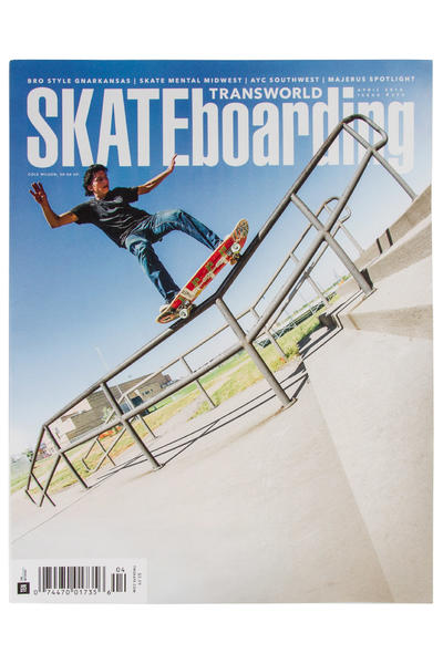 Transworld April 2016 Revista