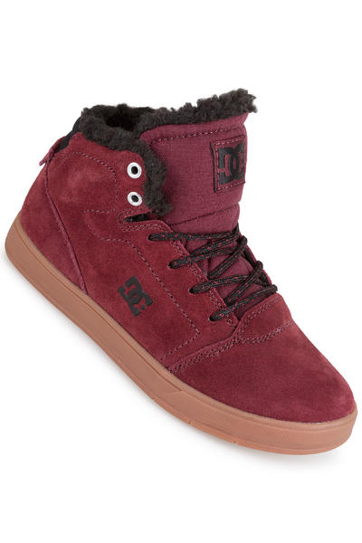 DC Crisis High WNT Shoe kids (burgundy)