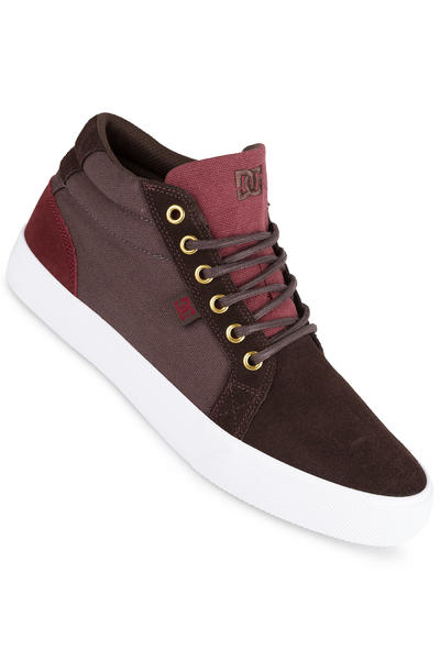 DC Council Mid SD Schuh (dark chocolate oxblood)