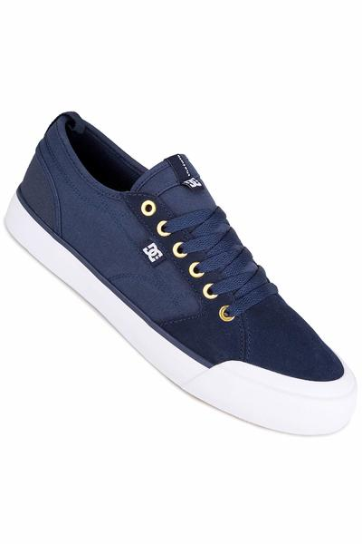 DC Evan Smith S Shoe (navy dark chocolate)