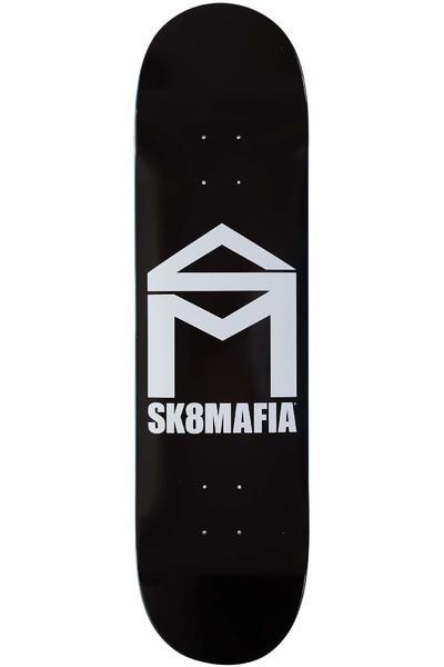 """Sk8Mafia House Logo 8.25"""" Planche Skate (black)"""