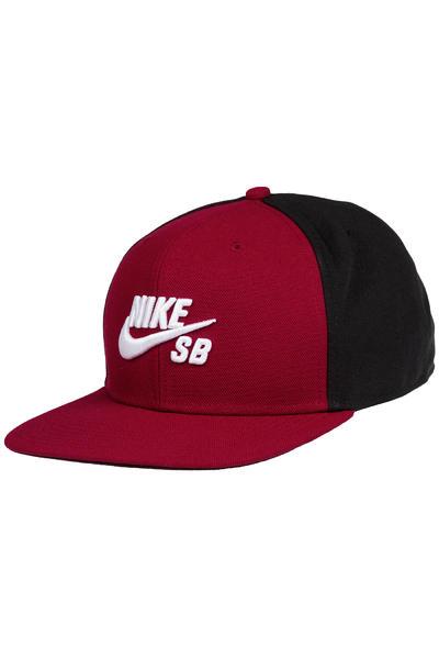 Nike SB Icon Snapback Cap (team red black)