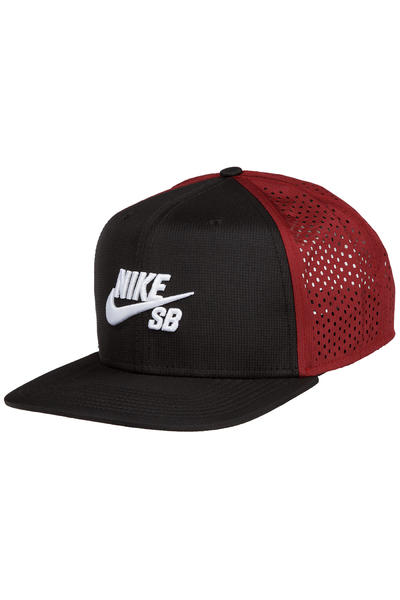 Nike SB Performance Trucker Cap (black team red)