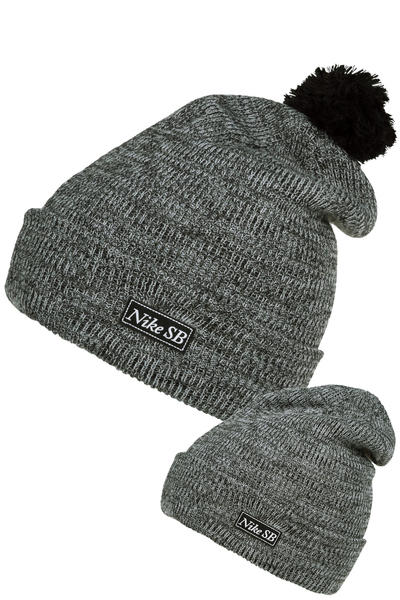 Nike SB 2-in-1 Pom Beanie (black)