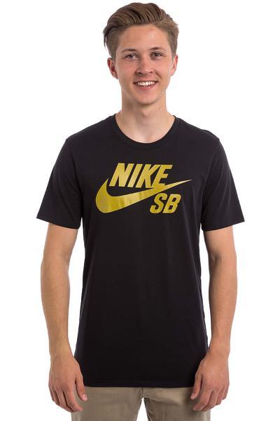 Nike SB Logo T-Shirt (black peat moss)