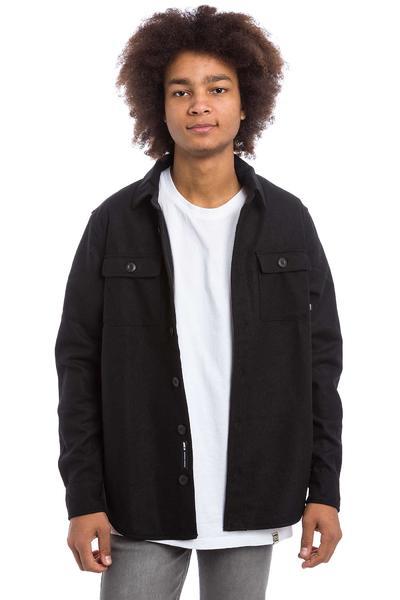 Nike SB Holgate Yarn Dye Wool Hemd (black)