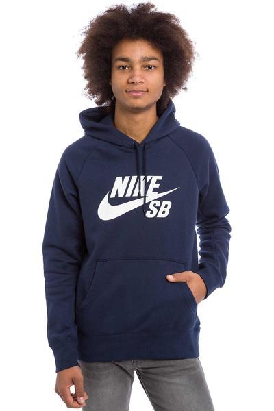 Nike SB Icon Sudadera (obsidian white)