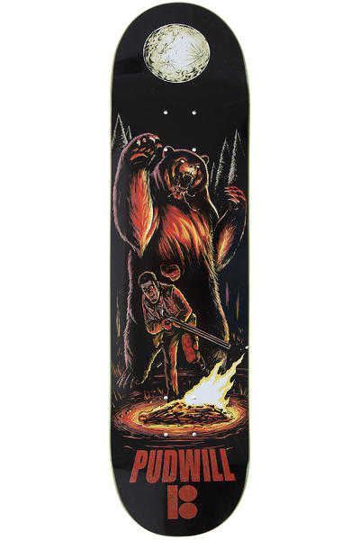 "Plan B Pudwill Camp Karma 8"" Deck (black)"