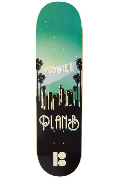 "Plan B Pudwill Traveler 8.125"" Deck"