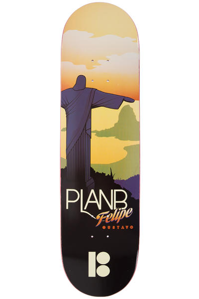 "Plan B Gustavo Traveler 8.375"" Deck"