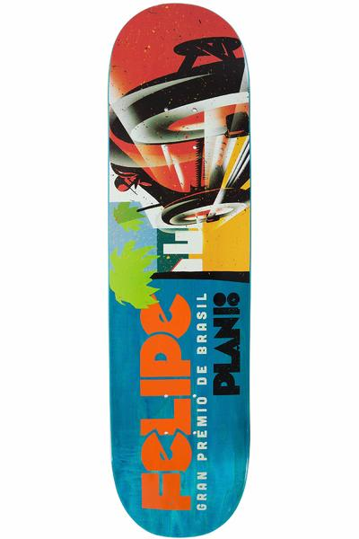 "Plan B Gustavo Racers 8.25"" Deck (multi)"