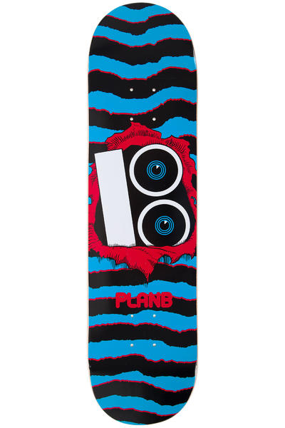"Plan B Team Torn 8"" Deck (blue)"