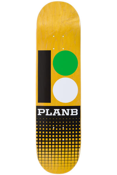"Plan B Team OG RMX Mini 7.75"" Deck (yellow)"