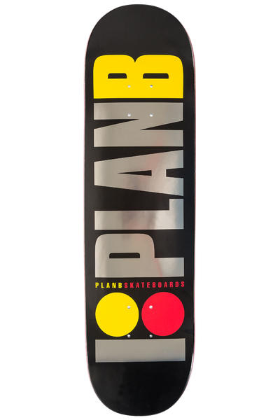 "Plan B Team OG BLK ICE 8.25"" Deck (black)"
