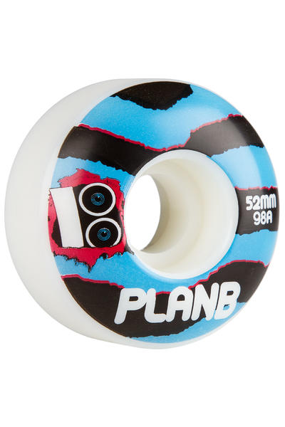 Plan B Team Torn 52mm Rollen (white) 4er Pack