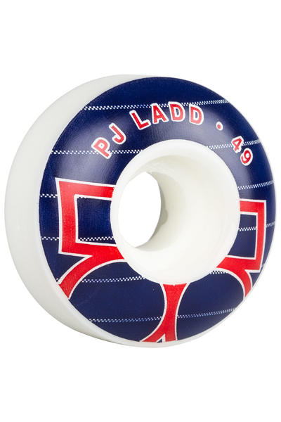 Plan B Ladd Era 49mm Wheel (white blue) 4 Pack